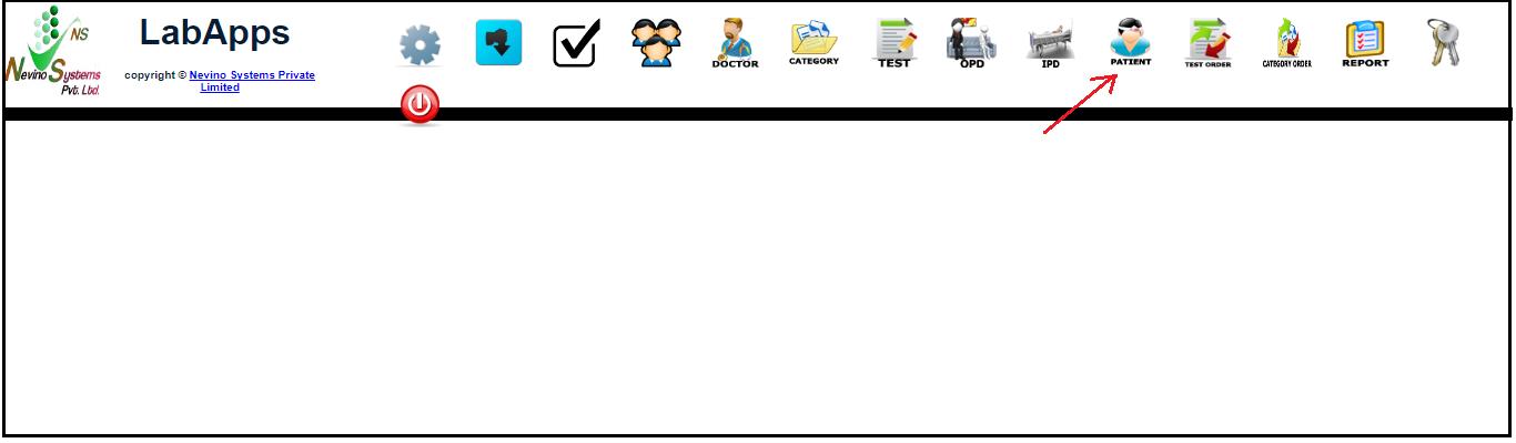 lab main dashboard