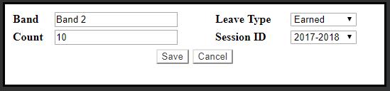 hr enter  leave count