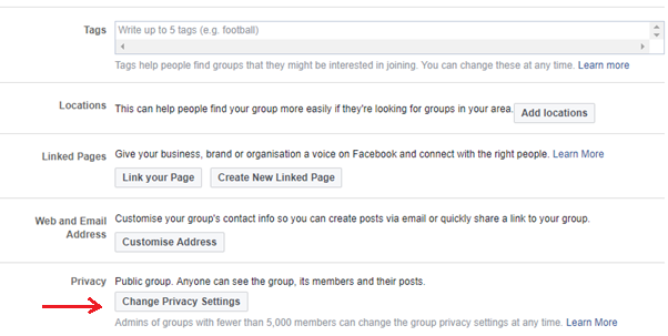 Why share button is missing on facebook group?