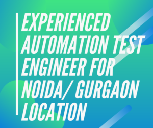 Experience-automation-test